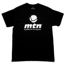MTN Футболка с логотипом черная