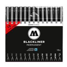 Molotow Набор Blackliner Complete Set 13шт.