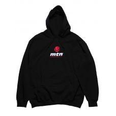 MTN Толстовка с капюшоном черная с логотипом