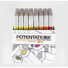 Potentate Набор маркеров Water Based Markers 48 Box